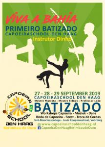 Capoeira batizado september 2019